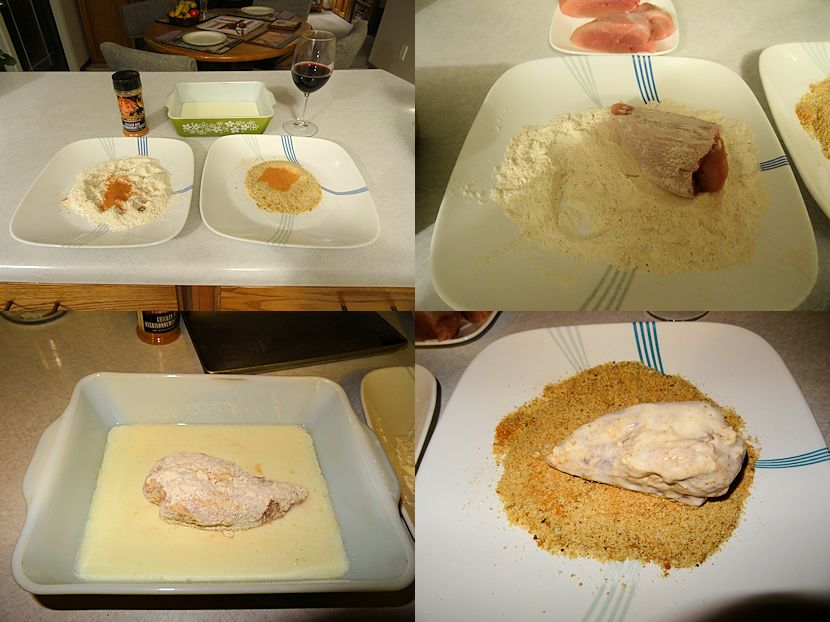 Breaded Turkey Breast 1