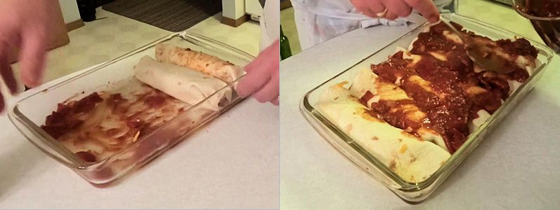 Chorizo Enchilada 6