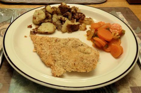 Breaded Salmon 2