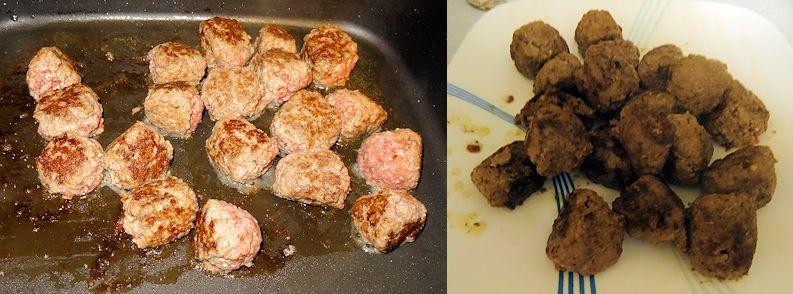 Meatballs Mushroom Gravy 2