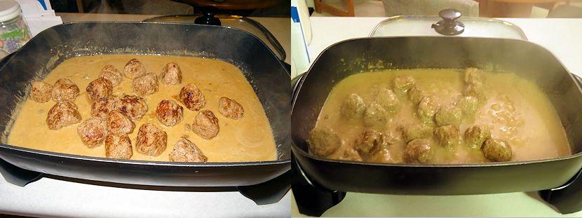 Meatballs Mushroom Gravy 4