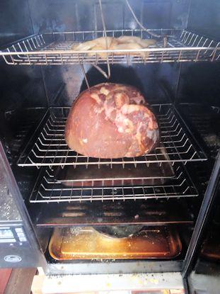 Orange Glazed Double Smoked Ham 01