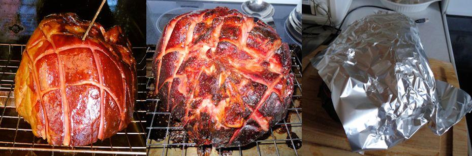 Orange Glazed Double Smoked Ham 03