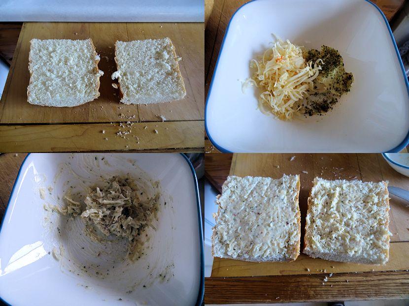 Garlic Bread on the Grill 1