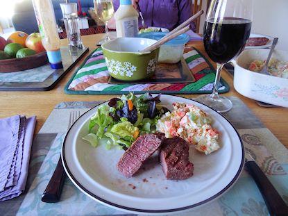 Smoker Tri Tip Steak 2