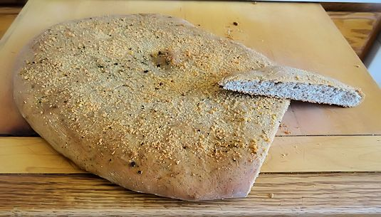 Buckwheat Foccacia 7