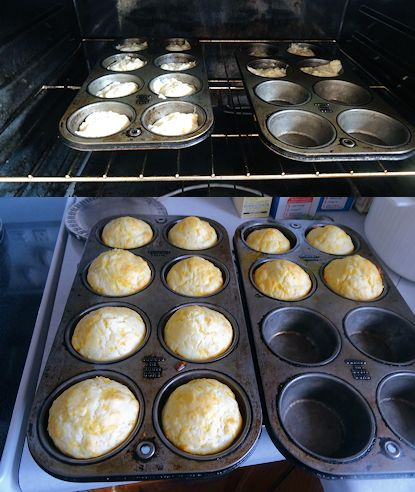 Cheese Muffins 2