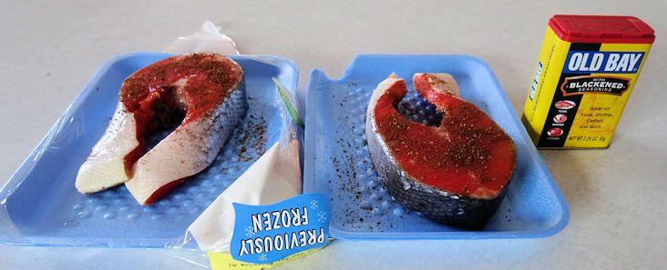Hot Smoked Salmon 1