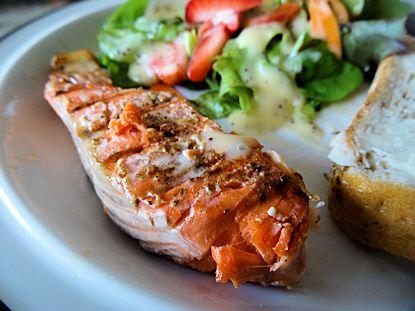 Hot Smoked Salmon at oldfatguy.ca