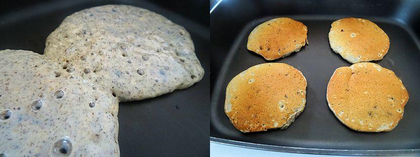 Huckleberry Buckwheat Pancakes 1