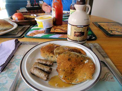 Huckleberry Buckwheat Pancakes 2