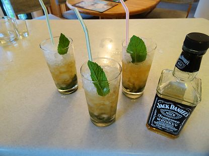 Mint Julep at oldfatguy.ca