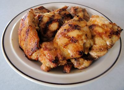 Quick Grilled Chicken Thighs 3