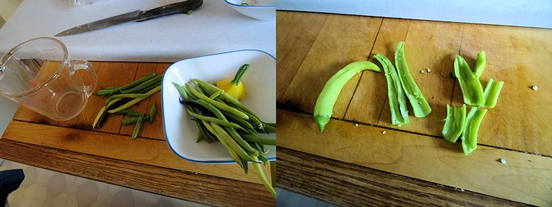 Stir Fried Shrimp Green Beans 1