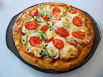 Celebration Pizza at oldfatguy.ca