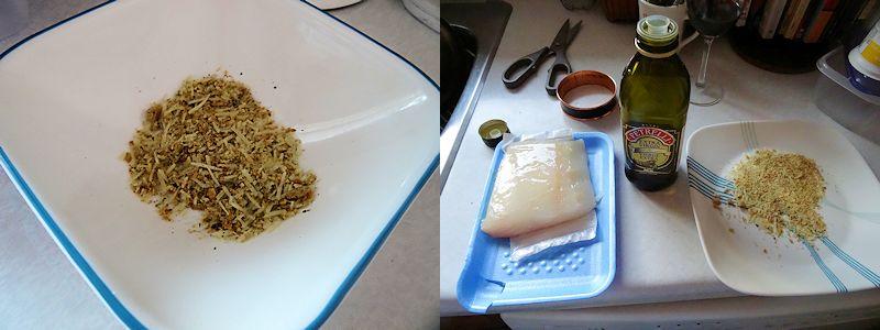 Parmesan Grilled Halibut