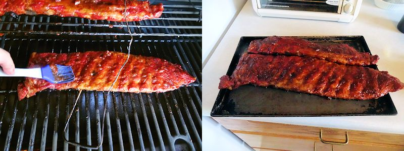 Ribs on the Pellet Grill 2