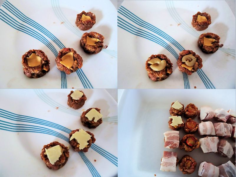 Sausage Cups Times Six 04