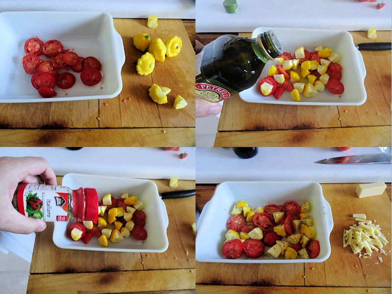 Summer Squash and Tomatoes 1