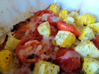 Summer Squash and Tomatoes
