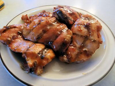 Apple Jelly Chicken Thighs 3