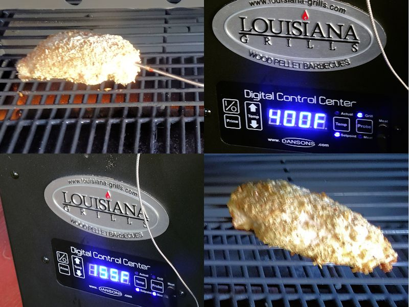 Breaded Chicken Breast on the Pellet Grill 4