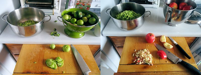 Green Tomato Mincemeat 1