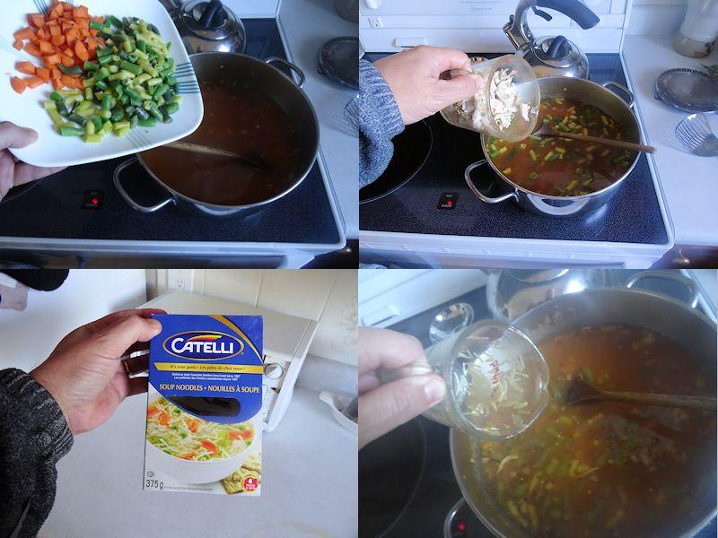 Turkey Noodle Soup 3