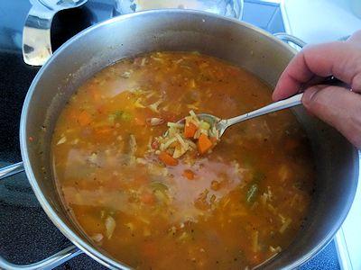 Turkey Noodle Soup 4