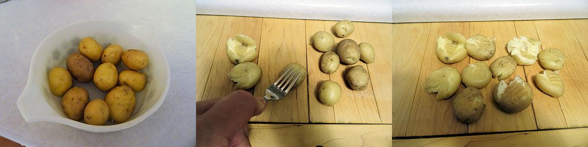 Crispy Crushed Potatoes 1