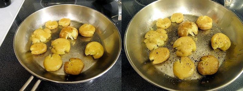 Crispy Crushed Potatoes 3