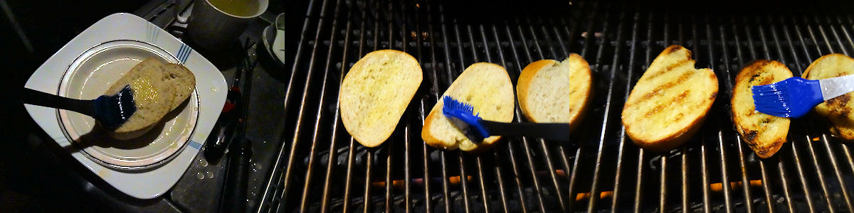 Grilled Garlic Toast 1