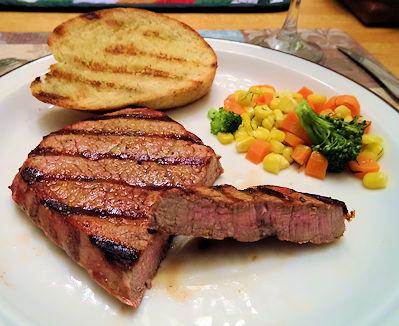 Smokey Spicy Sweet Hot Steak at oldfatguy.ca
