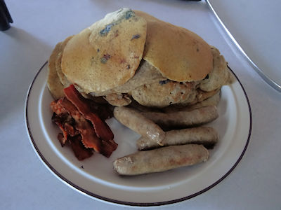 Sourdough Buckwheat Pancakes at oldfatguy.ca