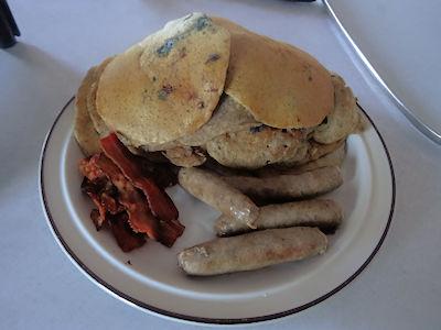 Sourdough Buckwheat Pancakes at oldfatguy.ca