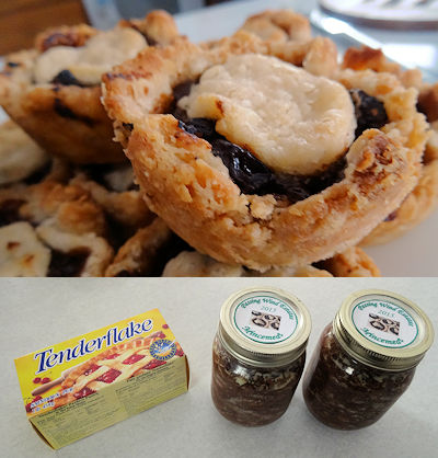 Mincemeat Tarts at oldfatguy.ca