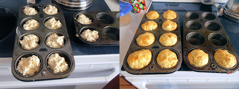 Sourdough  Cheese Muffins 1