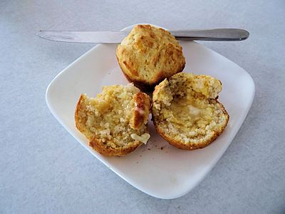 Sourdough  Cheese Muffins 3