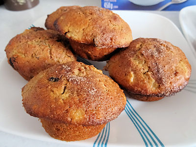 Sourdough Harvest Apple Muffins 5