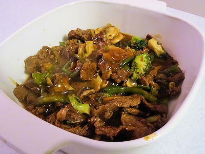 Beef Curry Stir Fry at oldfatguy.ca