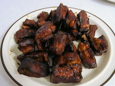 Char Siu Rib Tips at oldfatguy.ca