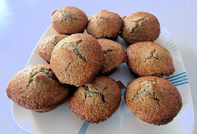 Sourdough Blueberry Cornmeal Muffins 5