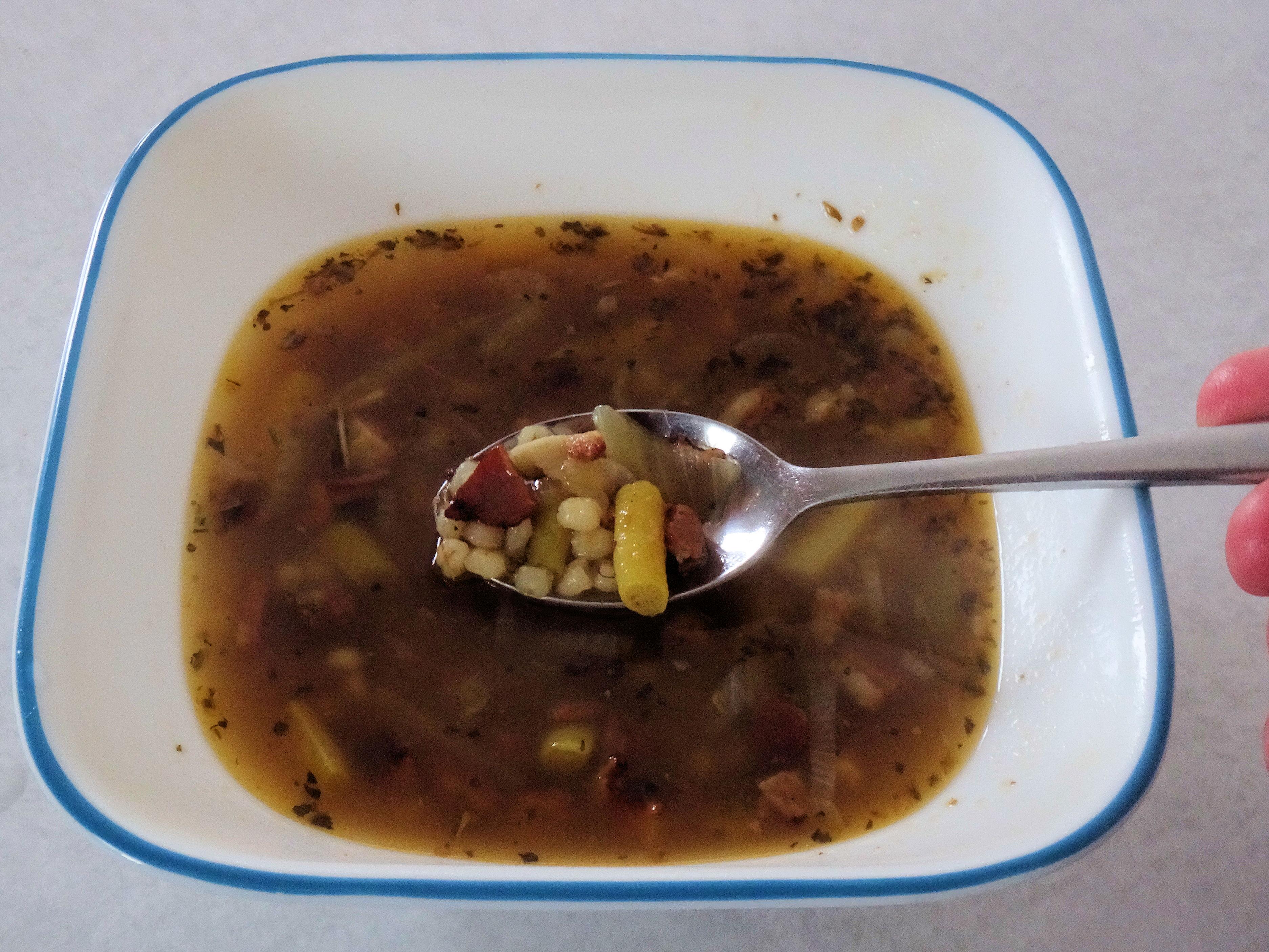 Bacon Barley Soup 3