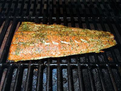 Smoked Dill Salmon at oldfatguy.ca