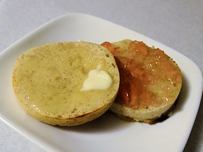 Sourdough English Muffin at oldfatguy.ca