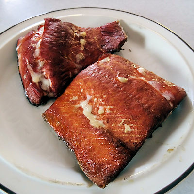 Easy Smoked Salmon at oldfatguy.ca