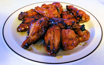 Honey Teriyaki Wings at oldfatguy.ca