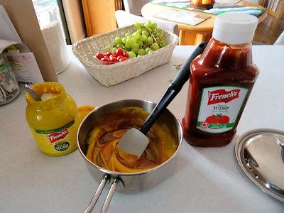 Molasses Mustard Q Sauce 1
