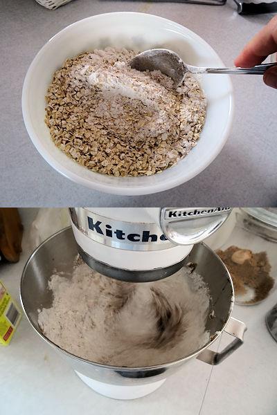 Molasses Oatmeal Cookies 3