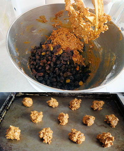 Molasses Oatmeal Cookies 4